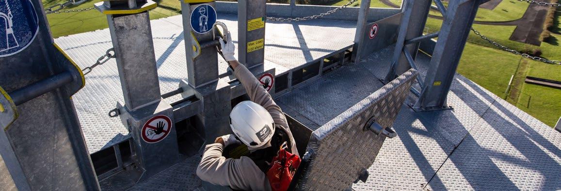 Port et utilisation des EPI contre les chutes de hauteur - module initial